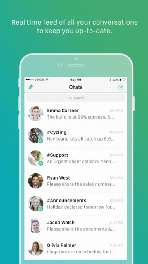 Zoho Chat - Team Communication