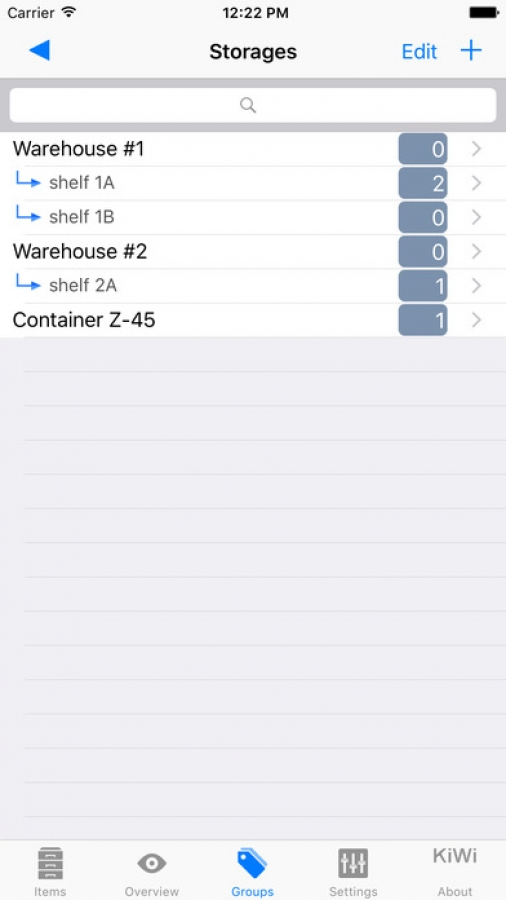 Stock Control: Manage your Items and Inventory