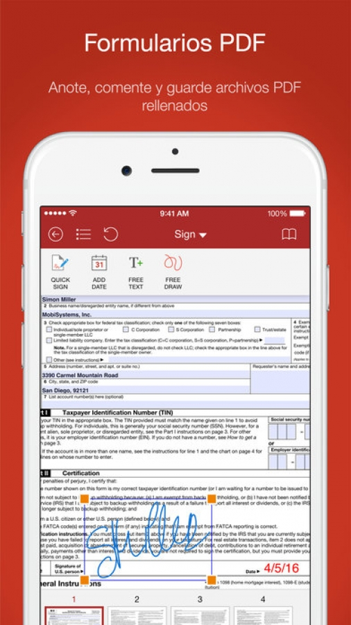 OfficeSuite - Oficina móvil + PDF