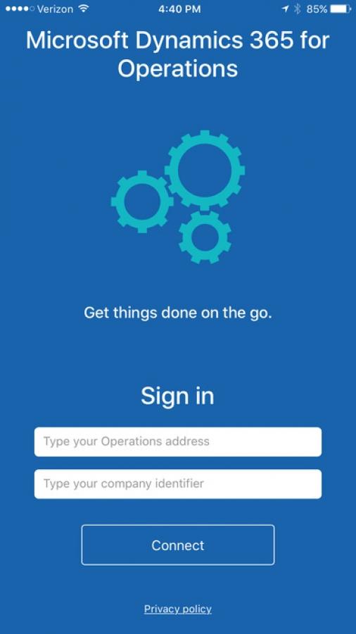 Microsoft Dynamics 365 for Operations