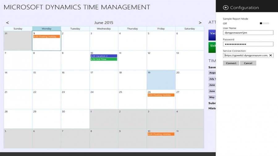 Dynamics Time Management