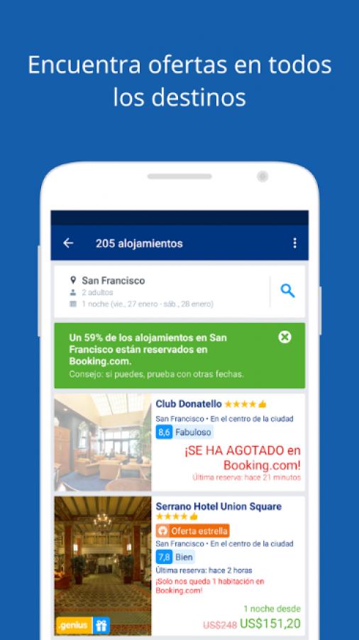 Booking.com Reservas Hoteles