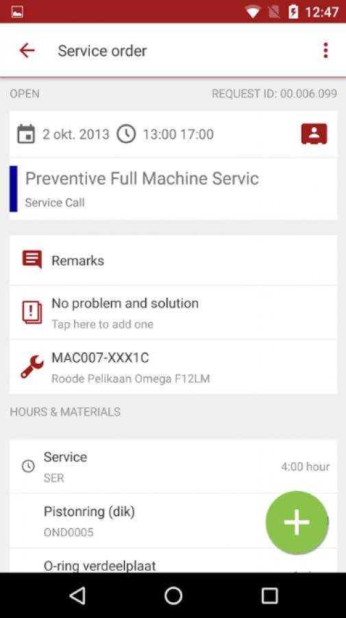 Exact Field Service Q