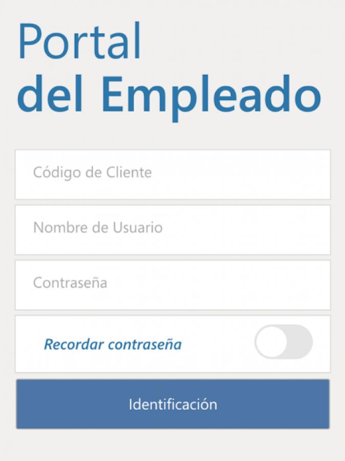 Portal Empleado