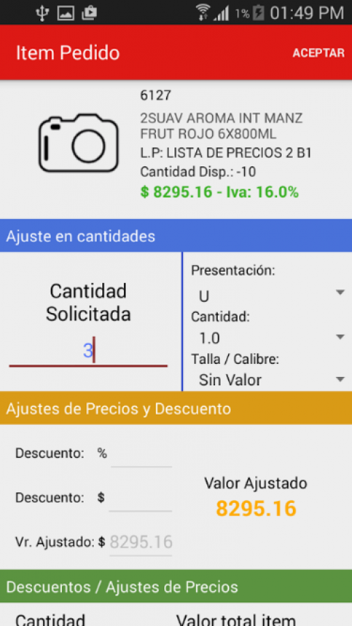 Gestion Movil - Ventas
