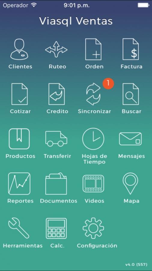 Viasql Ventas y Catálogo App