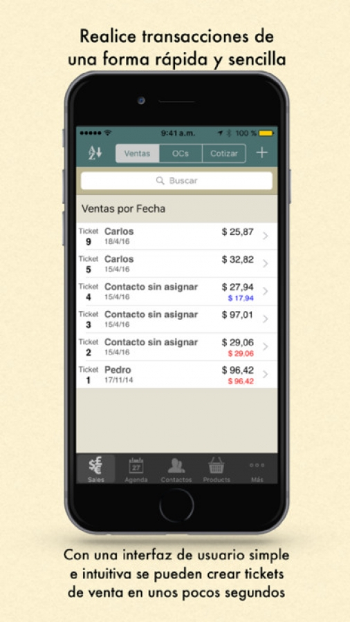 Ring It Up Universal: La App de Punto de Venta
