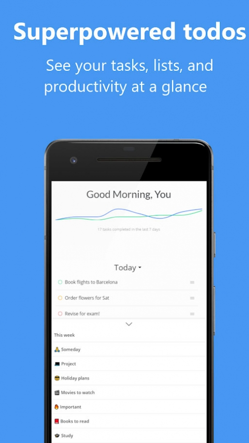 Lanes: Todo list app and timer