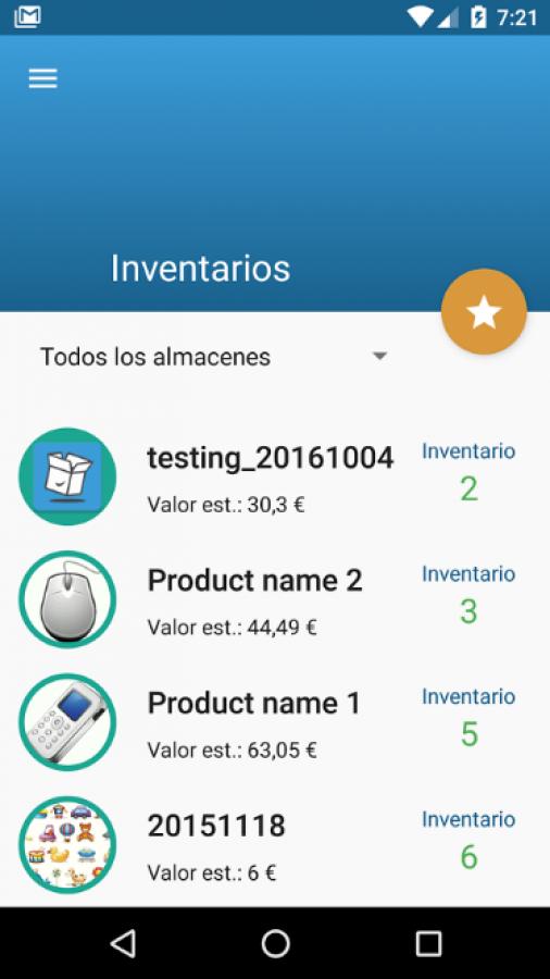 Stock Controller - inventarios