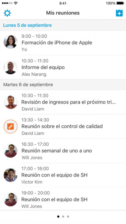 Cisco WebEx Meetings